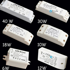 12V-6W-10W-12W-18W-30W-40W-LED-MR11-MR16-Light-Driver-Power-Supply-Transformer