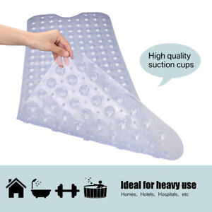 Extra-Large-Non-Slip-Bath-Mat-Bathtub-Bathroom-Shower-Mat-Rubber-Strong-Suction