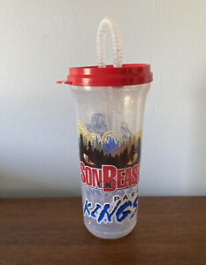 Son of Beast Roller Coaster Souvenir Cup Paramount's Kings Island The Beast