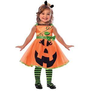 Kinder Mädchen Kleinkind Babys Süß Pumpkin Jack O Laterne Halloween