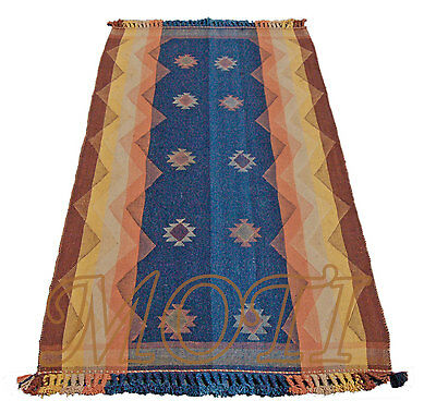 Kelim Gjajim / Jajim 217x113 Perser Teppich Decke Überwurf Wandteppich Rug Tapis