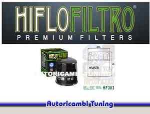 FILTRO-OLIO-MOTO-HIFLO-HF303-PER-MOTO-Kawasaki-ZX-6R-Ninja-600-cc-anni-2000-gt-2001