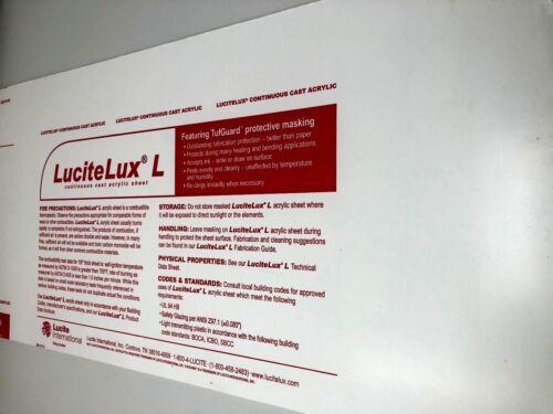 "1//8/"" x 12/"" x 24"" Acrylic Plexiglass Sheet Clear Replacement Of Glass .125/"""