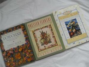 Lot of 3 H.C. Books by Penny Black POTPOURRI, PRESSED FLOWERS, SCENTED HOUSE