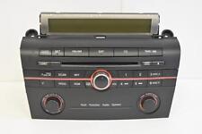 2004-2009 MAZDA 3 RADIO STEREO 6 DISC CHANGER CD PLAYER BN8K 66 9R0