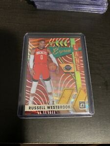 Russell-Westbrook-2019-20-Donruss-Optic-Express-Lane-TMALL-Red-WAVE-Prizm