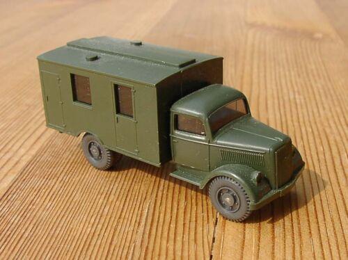 3360 Wiking h0 1:87 Opel Blitz militaire camion équipe voiture Sani valise vert olive