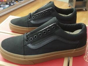 Détails sur VANS OLD SKOOL Canvas Gum VN0A31Z9L0D BlackGUM MEN US Taille 8 afficher le titre d'origine