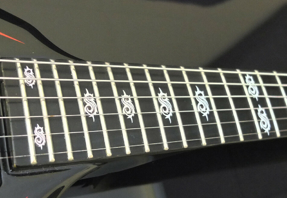 Trivium MOP DOTBUSTER Fret Markers Inlay Sticker Decal for ANY BASS and GUITAR