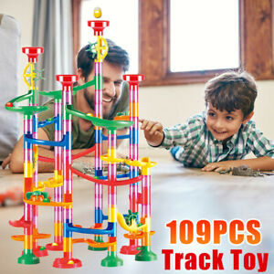 Rolling Ball Running Maze Track Puzzle Learning Educational Toys Kids Training