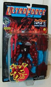Ultraforce-Limited-Edition-Red-Slayer-NM-E-5000-Black-Card-Galoob-1995