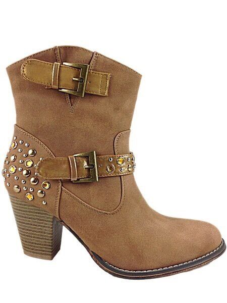 Foster Women's Ankle Boots, brown 8 EU