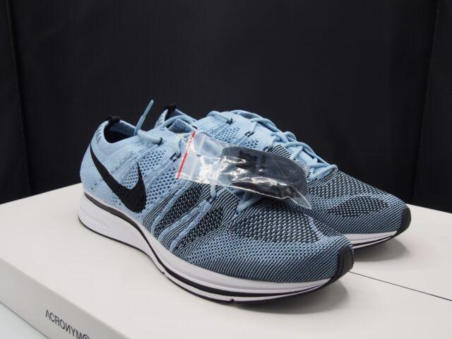 ee1acf5600cff Men s Nike Flyknit Trainer Cirrus Blue Black White Ah8396 400 Size ...