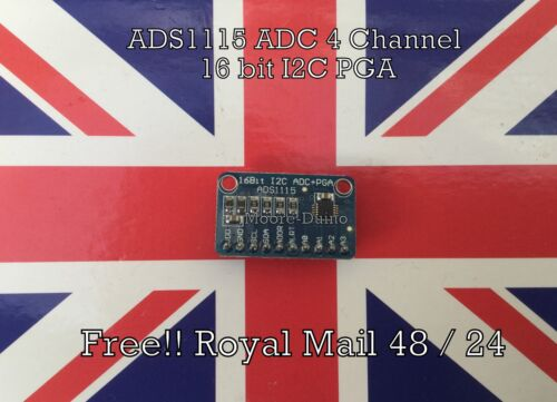 Arduino Raspberry Pi 3 2 NodeMCU ESP8266 ADS1115 ADC 4 Channel 16 bit I2C PGA