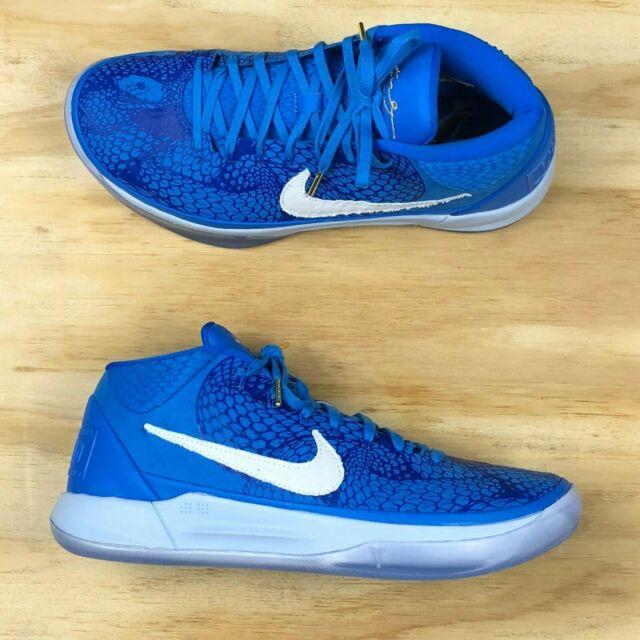 sale retailer a058a d0728 Nike Kobe AD PE Demar Derozan Blue Flywire Basketball Shoes [AQ2721-900]  Size