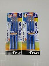 Pilot Frixion Color Sticks Erasable Gel Pens Fine Point Blue 2 Packs Of 3