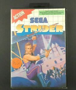 Strider-Sega-Master-System-Game-Complete-With-Manual-Arcade-Tracked-Post