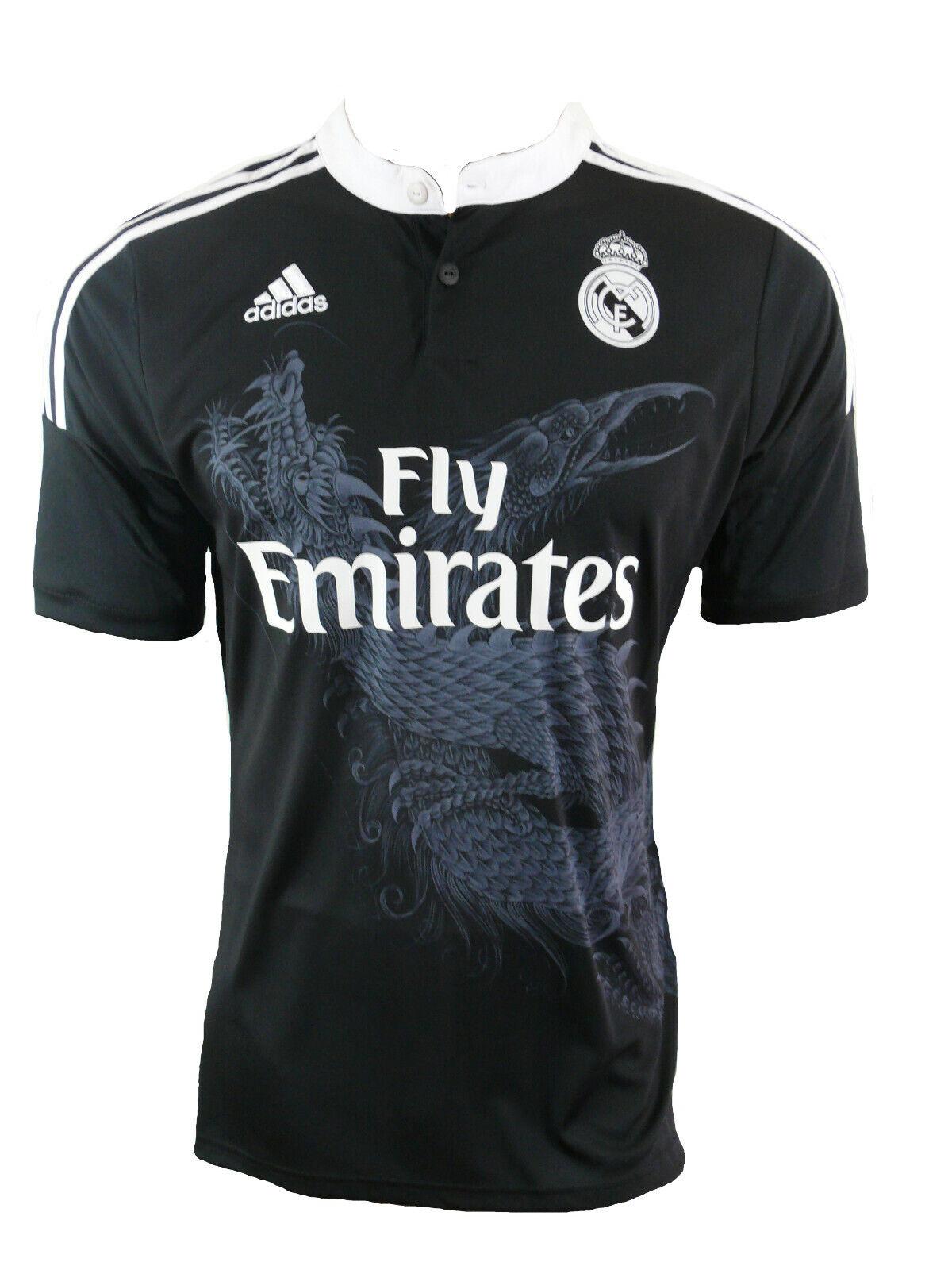 Adidas Real Madrid Maglia 201415 AWAY Nero