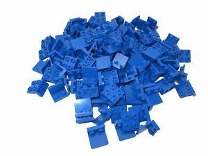 4x bracket 1x2-2x2 90 ° inverted stand blue//blue 99207 new Lego