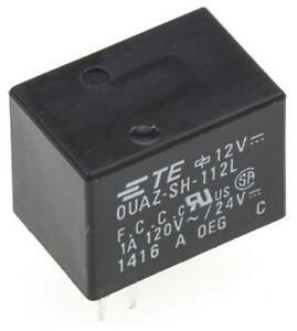 2-x-OUAZ-SH-112L-SPDT-PCB-Mount-Signal-Relay-12V-DC-Coil-1A-120VAC-24VDC