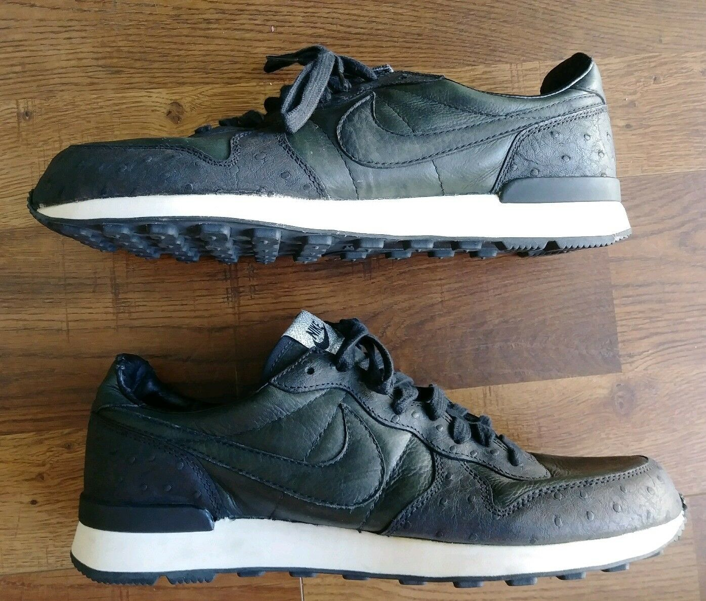 Rare 2004 Nike Dunk Low premium Black Sophnet Edition Japan size 11 310662-001