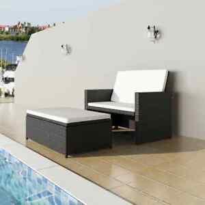 Garten-Sofagarnitur-5-tlg-Poly-Rattan-Gartenmoebel-Sofa-Lounge-Sitzgrupp-Schwarz