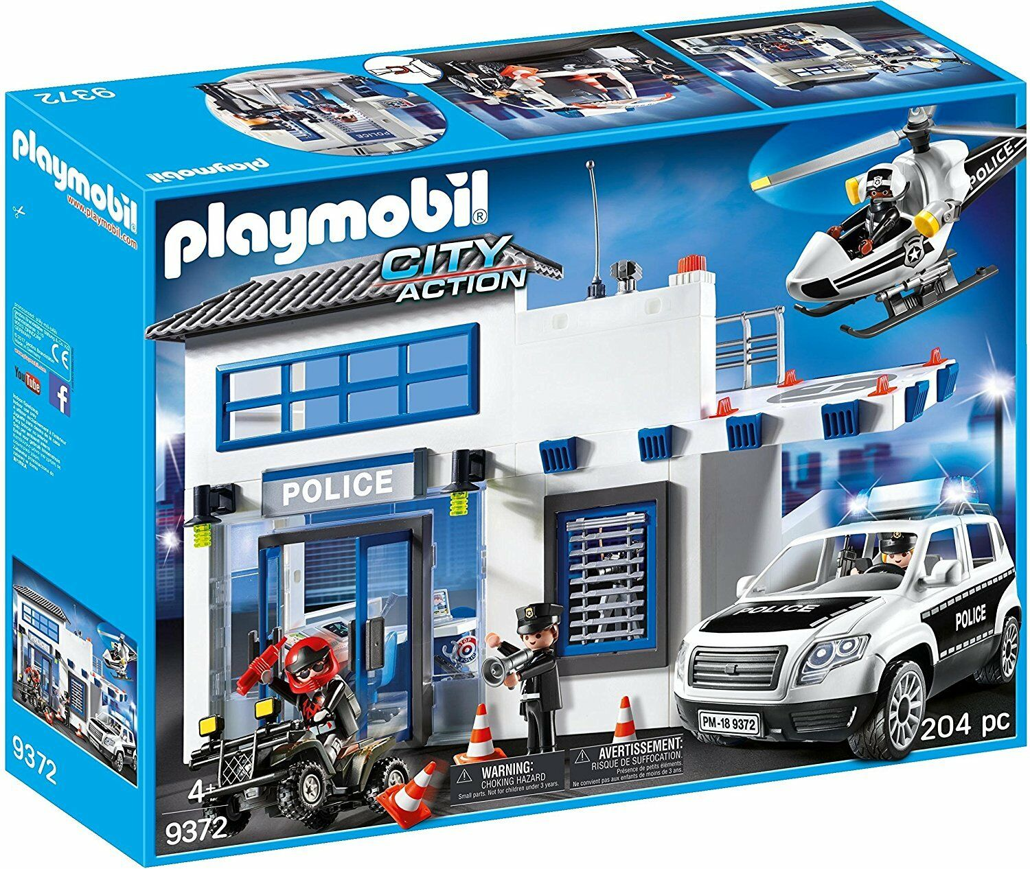 Playmobil City Action 9372 - Mega Set de Policía - New and sealed