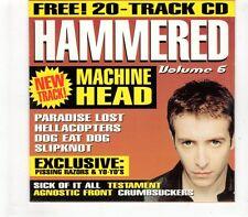 (GR511) Hammered Volume 6, 20 tracks various artists - Metal Hammer CD