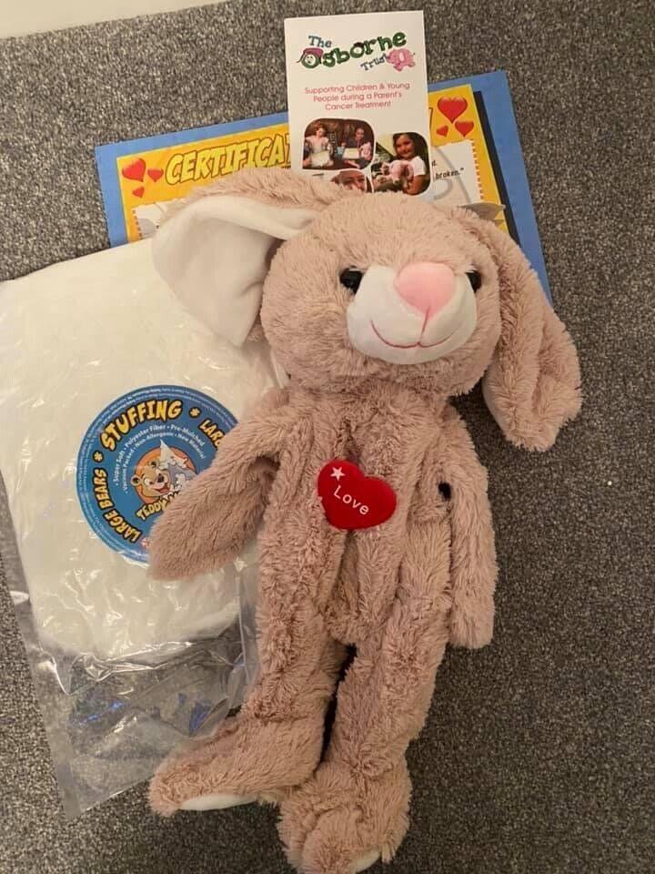 "Stuff Your Own 16"" Floppy Eared Rabbit Teddy"