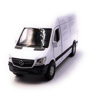 Mercedes-Benz-Sprinter-Panel-Van-White-Model-Car-Car-Scale-1-3-4-Licensed