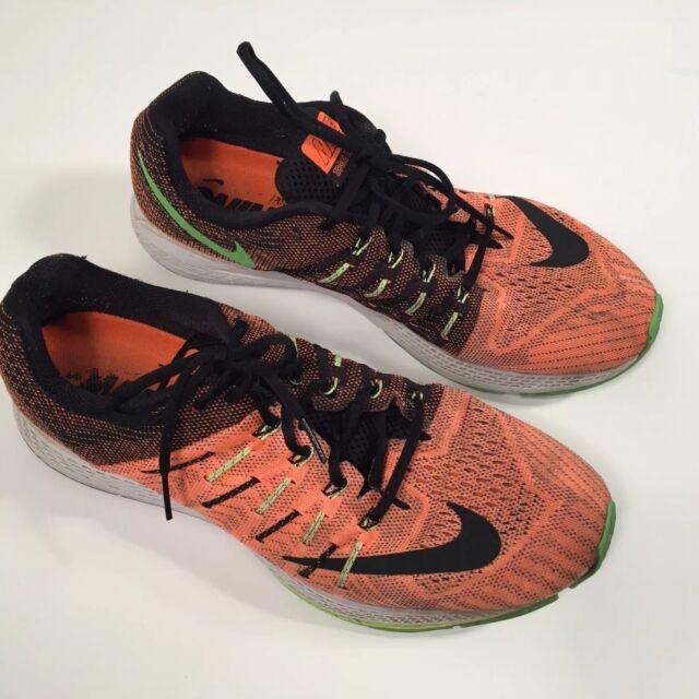 f63780400c94c0 Nike Mens Size 12 Zoom Elite 8 Total Orange Black Ghost Green Running  748588-803