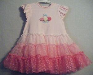 Little Me Girl's Popover Tutu Onesie-PINK-24 Months-NWT