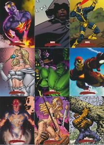 2008-Upper-Deck-MARVEL-MASTERPIECES-Series-2-Base-cards-Pick-From-List