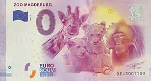 BILLET-0-EURO-ZOO-MAGDEBURG-ALLEMAGNE-2017-NUMERO-1100