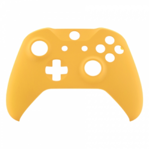 Details about Custom Xbox One S Controller Front Shell Faceplate  Replacement Caution Yellow