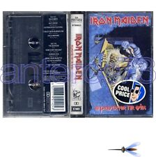 """IRON MAIDEN """"NO PRAYER FOR THE DYING"""" K7 ITALY - SEALED"""