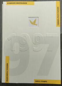 Jahrbuch Der Schweizer Briefmarken 1997