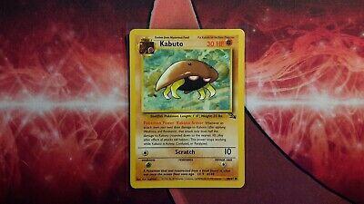 Kabuto Fossil Pokemon Card LP   eBay  Kabuto Pokemon Fossil