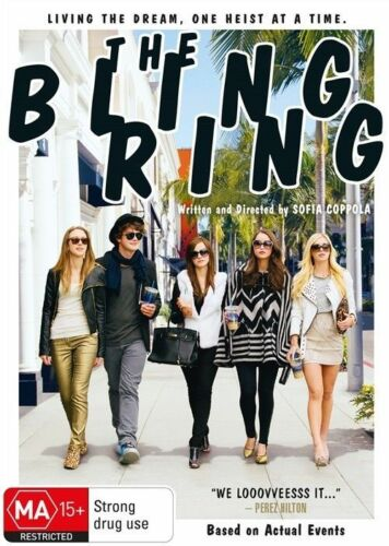 1 of 1 - The Bling Ring (DVD, 2013)*R4*Terrific Condition*comedy