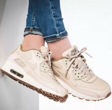 Nike AIR MAX 90 PREM OATMEAL SAIL Khaki SHOES 443817 105 Sz 9 Women's