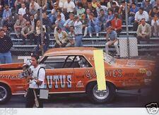 JUNGLE JIM  DRIVING LEW ARRINGTON'S BRUTUS     8X12 DRAG RACING  PHOTO