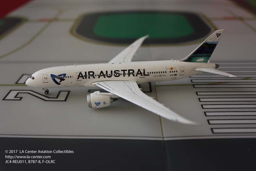 JC JC JC Wing Air Austral French Airlines Boeing 787 Beach Tail Diecast Model 1 400 997cf1