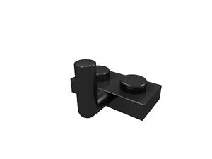 nuevo 88072 50 x lego placa 1 x 2 con gancho-negro
