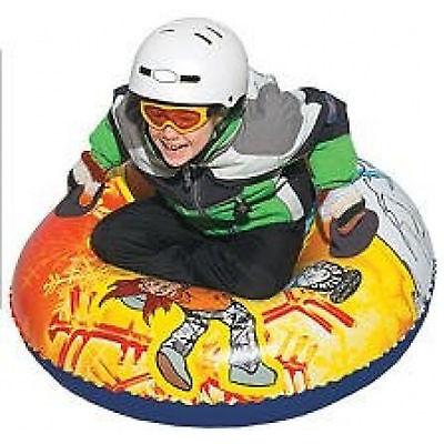"""37"""" AW4102YE Uncle Bob's Winter Sport Snow Monster Tube Sled for Kids"""