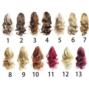 Queue-de-Cheval-Extension-Extension-avec-Pince-Rajout-Cheveux-Diverses
