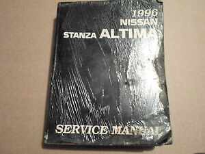 1995 nissan altima service manual