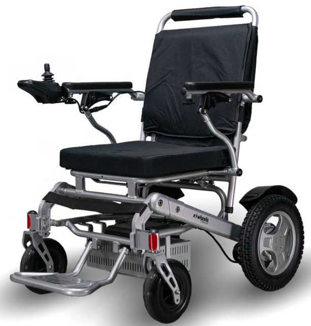 eWheels EW-M45 Power Wheelchair with Storage Bag for sale online ...