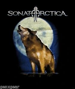 SONATA-ARCTICA-cd-lgo-WOLF-FADES-TO-GRAY-Official-SHIRT-XL-New-OOP-days-of-grays