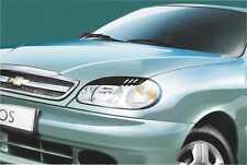 Cilia head lights Headlights eyebrows Daewoo Lanos 1997- Design eyebrows type -2