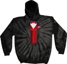9fea17d06461 Thrasher Magazine 13 Wolves Black Tie Dye Hooded Sweatshirt - Small ...